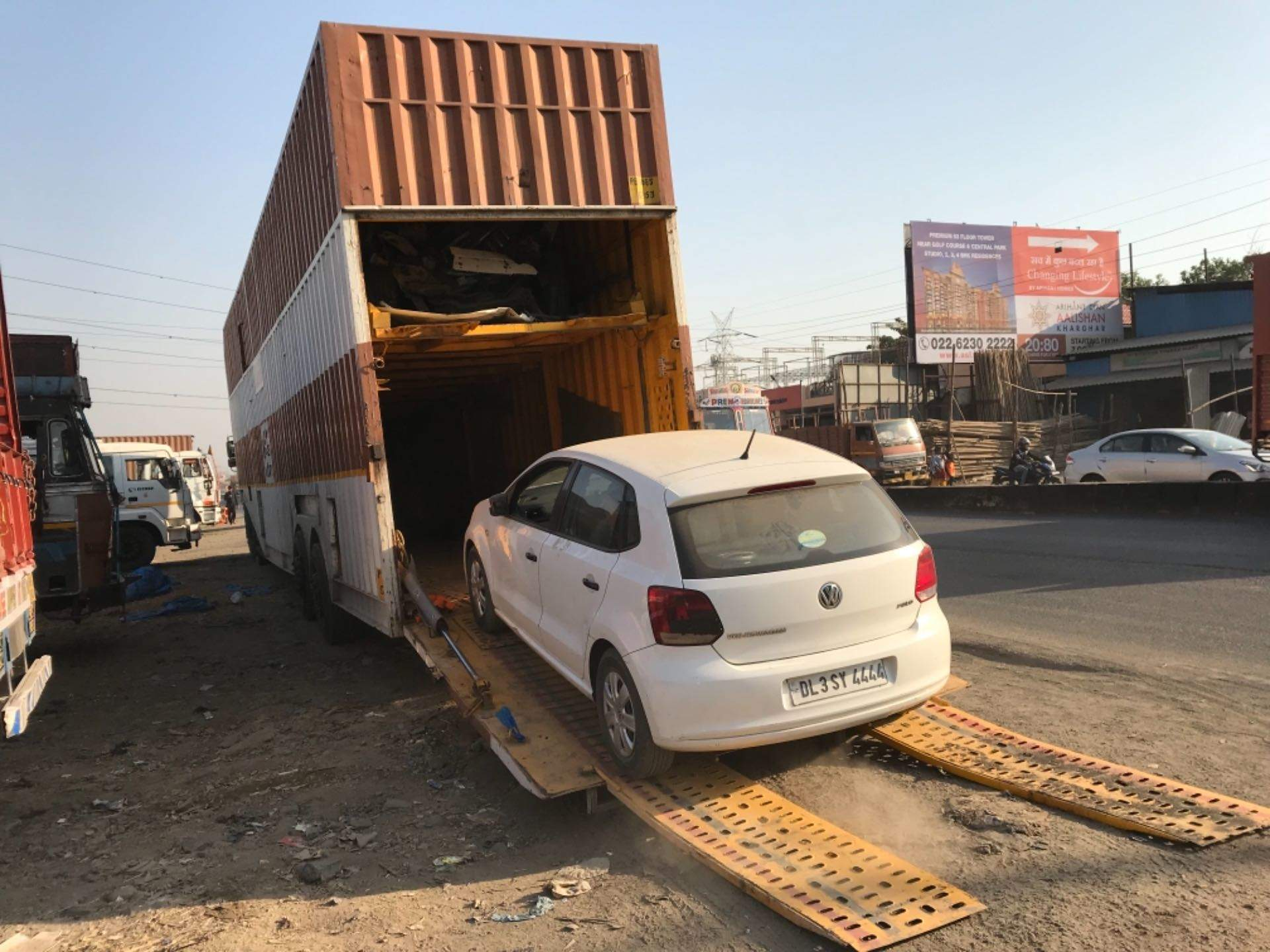 Bishayee road carrier